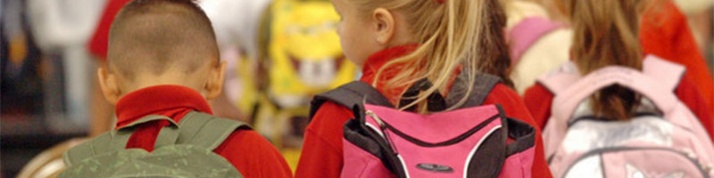 How to Prevent Back Pain from Back Packs of School Children